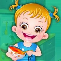 Mała Hazel: Zabawa w kuchni