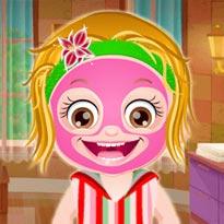 Mała Hazel: Makijaż w Spa