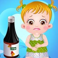 Mała Hania: Ból brzuszka