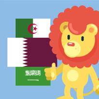Flagi Krajów Arabskich