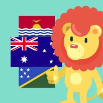 Flagi Australii i Oceanii