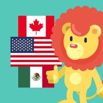 Flagi Ameryki Północnej