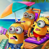 Minionki na wakacjach