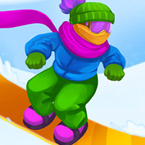 Zjazd na snowboardzie