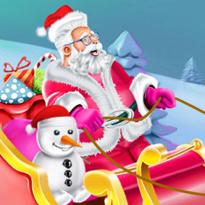 Mikołaj i jego sanie