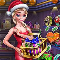Świąteczne zakupy królowej lodu