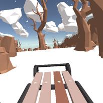 Zjazd na sankach 3D