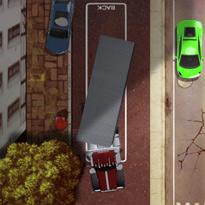 Parkowanie z naczepą