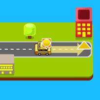 Przejazd taksówkarza