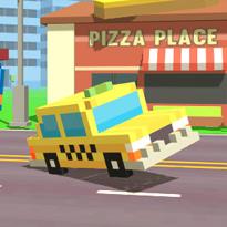 Pikselowy postój taksówek