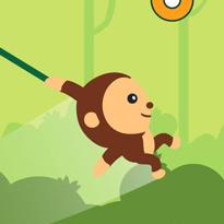 Małpka na linie