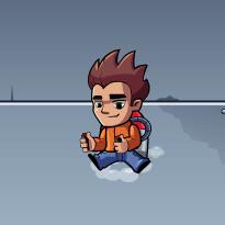 Chłopak z jetpackiem