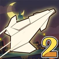Papierowy samolot 2