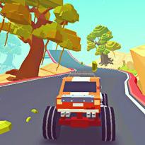 Podniebne trasy monster trucków