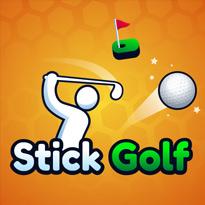 Golf z patyczakiem