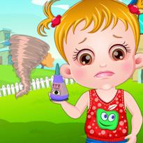 Mała Hazel: Szczypiące oczy