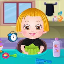 Mała Hazel: Pielęgnacja włosów