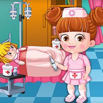 Mała Hazel: Zabawa w lekarza