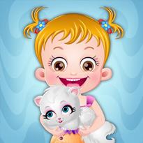Mała Hazel: Opieka nad kotkiem