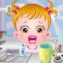 Mała Hazel: Dbanie o zęby