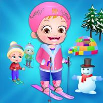 Mała Hazel: Zimowa zabawa