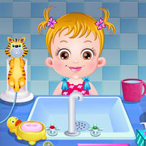 Mała Hazel: Dbanie o higienę