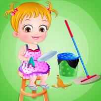 Mała Hazel: Sprzątanie