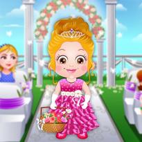 Mała Hazel: Ślubne kwiatki