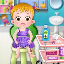 Mała Hazel: Skaleczenie w nogę