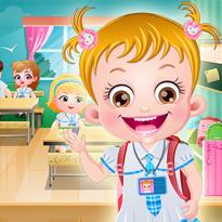 Mała Hazel: Higiena w szkole