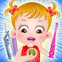 Mała Hazel u dentysty