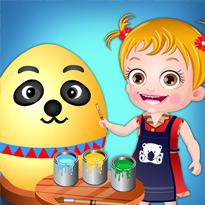 Mała Hania: Wielkanocne zabawy