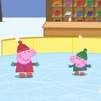 Świnka Peppa: Liczenie na łyżwach