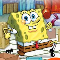 SpongeBob w labiryncie