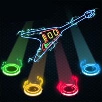 Neonowa gitara