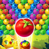 Owocowy Bubble Shooter