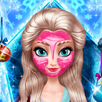 Makijaż królowej lodu