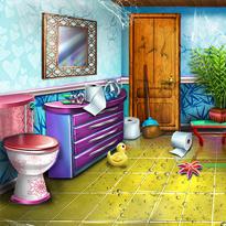 Odświeżona łazienka