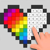 Kolorowanie pikseli po numerkach