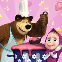 Masza i Niedźwiedź: Zabawa w gotowanie