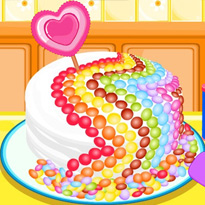 Cukierkowe ciasto