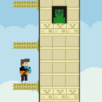 Minecraftowa wieża