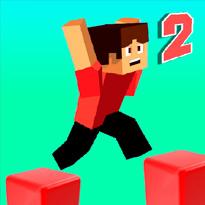 Minecraftowy parkour 2