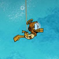 Kaczor Donald: Skarby w basenie