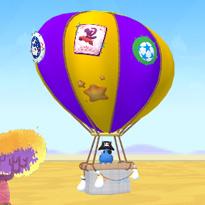 Rodzina Hapciów: Lot balonem