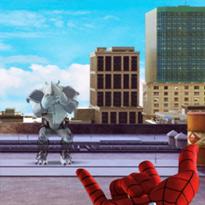 Spiderman: Strzelanie pajęczą siecią