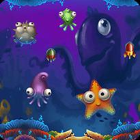 Bąbelkowe rybki